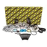 OK4028BM/0/0/0 92-95 Honda Civic Del Sol Vtec 1.6L SOHC D16Z6 Master Overhaul Engine Rebuild Kit by Evergreen Performance Components