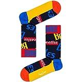 Happy Socks El Logotipo De Los Beatles Calcetines Para Hombre, Azul/Multi