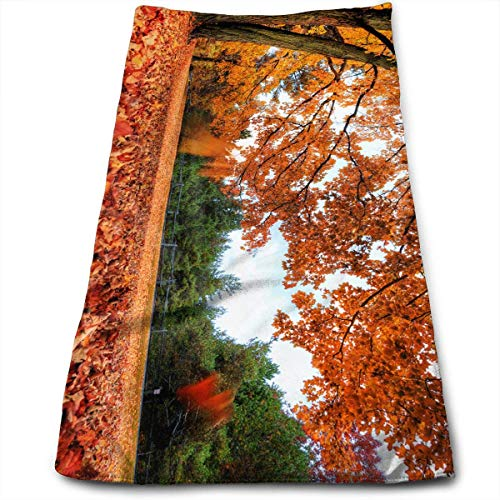 Liumiang Handtuch Exotic Maple Leaf Non-Toxic Hand Towel Tie-Dye Bear Terry Towel Soft Mircofiber Towel - Terry Tie Dye