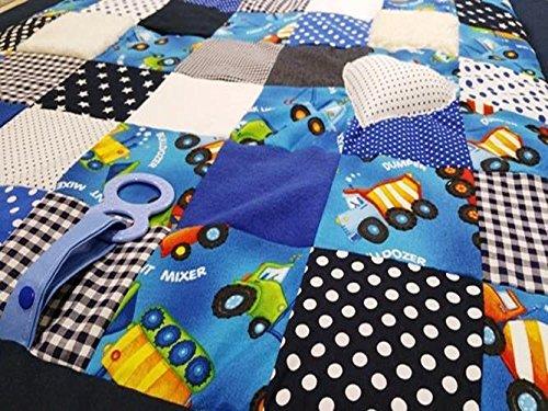 Babydecke, Kuscheldecke, Erlebnisdecke,Spieldecke - Rechteckige Mehrfarbige Teppiche