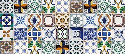 Laroom Alfombra Vinílica Cocina Diseño Ceramic Patchwork