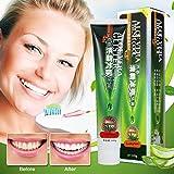 Pasta de Dientes Aloe Vera, Luckyfine Fresh Cool Toothpaste, para...