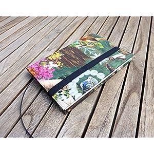 Notizbuch A6 Tagebuch Journal, Stoffhülle Sissi Dirndl Tracht bayerisch, von wagnerstrasse