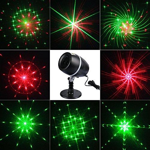 podofo del Paesaggio della Luce del faro impermeabile inneninnen palcoscenico del punto di illuminazione a LED della lampada del proiettore per Natale, tema del partito, Matrimonio, Notte Klub, Cortile e Giardino