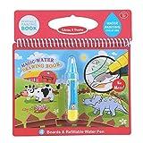 On the Go Water ¡Guau! Almohadillas de actividad reutilizable Water-Reveal, libro de colorear de agua mágica dibujo pintura álbum de fotos con pluma recargable Kids Learning Toys(# 4)
