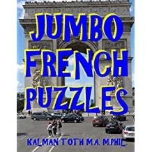 Jumbo French Puzzles: 111 Large Print French Word Search Puzzles