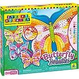 Orb Factory ORB70625 - Loisirs Créatifs - Papillons Beauties, 4 Projets - Sticky Mosaiques Autocollantes aux Numéros