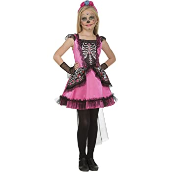 My Other Me costume Damisela scheletro per ragazza (Viving Costumes) 10-12  años 0b4a7d20139