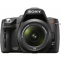 Sony DSLR-A390L SLR-Digitalkamera (14,9 Megapixel, 6,9 cm (2,7 Zoll) Display) Kit inkl. DT 18-55 mm SAM Objektiv