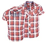 Kaporal - Homme - Chemise à carreaux manches courtes Nelog ...