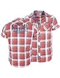 Kaporal homme - Chemises manches courtes Rouge Kaporal Nelog - Taille vêtements - M