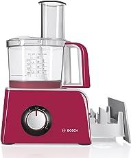 Bosch MCM42024 Kompakt-Küchenmaschinen-Set Styline MCM4 (800 Watt, Colour / inkl. integrierter Zubehörschublade) red Diamond