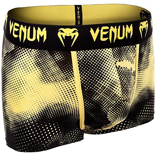Venum Herren Technical Boxershorts Schwarz / Gelb