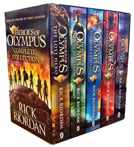 Heroes of Olympus Complete Collection 5 Books Box Set -The Lost Hero/The Son of Neptune/The Mark of Athena/The Blood of Olympus by Rick Riordan (2015-06-07)