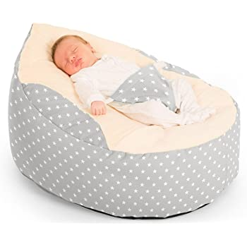 Incredible Personalised Pre Filled Baby Bean Bag Chair Seat Newborn Ocoug Best Dining Table And Chair Ideas Images Ocougorg
