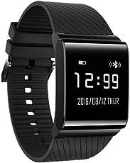 x9Plus Smart Wristband attività fitness tracker cardiofrequenzimetro, Smart orologio da polso bracciale sport orologi per Android e iOS con monitoraggio della pressione sanguigna e ossigeno, monitoraggio del sonno, contapassi