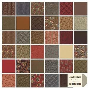 "Barbara Brackman MODERNISM Jelly Roll 2.5"" Fabric Quilting Strips Moda 8270JR by Moda Fabrics"