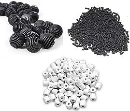 Fish Tank 500G Activated Carbon + 500G Ceramic Rings + 22 Bio Balls
