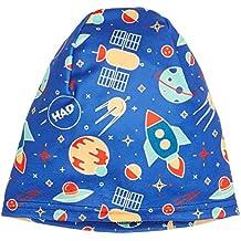 HAD® Printed Fleece Gorro, Infantil, Rocket, Talla Única