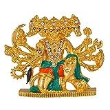 #7: Divine Gifts Panchmukhi Hanuman Brass Idol for car Dashboard