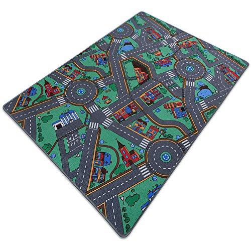 Spielteppich - Meine große Stadt - 4 Größen wählbar - Öko-Tex 100