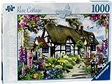 Rosen Cottage Puzzle mit 1000 Teile