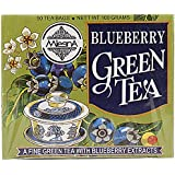 Mlesna Flavoured Green Tea, Blueberry, 100g