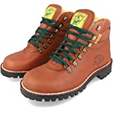 Jim Green Razorback Boots for Men Lace-Up Water Resistant Full Grain Leather Work or Hiking Boot (Tan, 10)