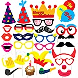 Discount Retail Laser Cut Party Props for Birthday Party (26 Pieces)