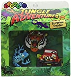 crocs DIJ Jungle Boys 3pc Pack - Card Schuhanhänger, Mehrfarbig (-), Einheitsgröße