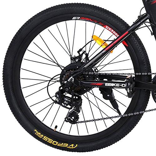 Buyi-World Elektrofahrrad Mountainbike Bild 6*