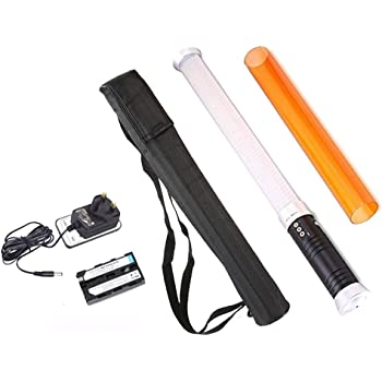 EACHSHOT 55cm Portable Handheld 298 PCS LED beads Magic Tube Light MTL-900 II as Ice Light With One Piece NP-F550 Battery