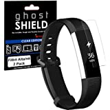 TECHGEAR [2 Pack] Protection Écran pour Fitbit Alta HR [ghostSHIELD] Film de Protection Souple en TPU avec Protection…