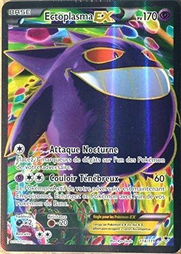 carte Pokémon 114/119 114/119 114/119 Ectoplasma EX 170 PV ULTRA RARE FULL ART XY04 NEUF FR | Pas Chers  8bbb7b