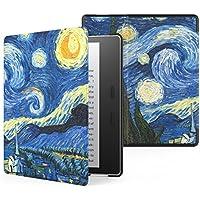 MoKo All-New Kindle Oasis Case (9ª Gen - modello 2017) - Ultra Sottile Leggera Custodia con Funzione Auto Sveglia / Sonno per Nuovo Amazon Kindle Oasis E-reader, Notte Stellata