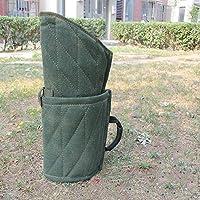 Myyxt Toile Manchons de morsure de battement Ajouter la doublure de vachette Bras de protection Produits pour animaux de compagnie