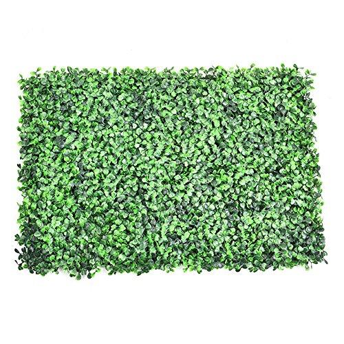 jincome Künstliche Kunststoff Ivy Leaf Screening Heckenschere 60x 40cm für Garten Terrasse...