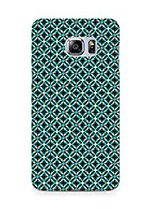 Amez designer printed 3d premium high quality back case cover for Samsung Galaxy S6 Edge Plus (brown pattern)