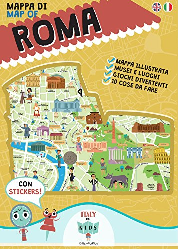 Mappa di Roma illustrata. Ediz. multilingue