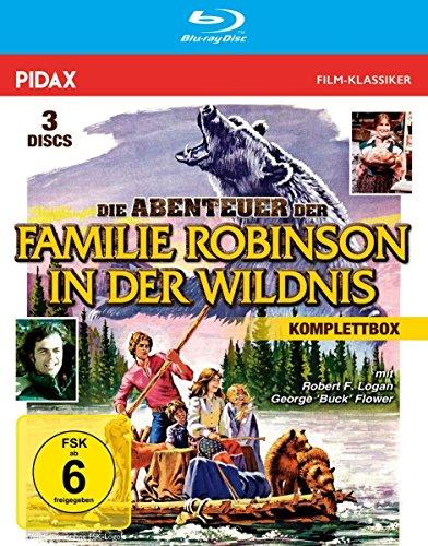 Die Abenteuer der Familie Robinson in der Wildnis - Komplettbox (Die legendäre Spielfilmtrilogie in brillianter HD-Abtastung) (Pidax Film-Klassiker) [3 Blu-rays] (Ray-film)