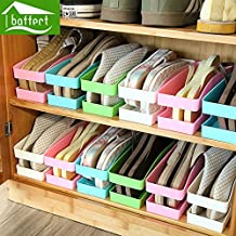 Generic al azar: zapatos organizador almacenamiento cajas y organizador de escritorio de contenedores de plástico hogar almacenamiento Multi uso hsb108