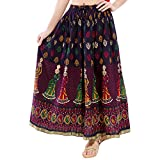 #10: Decot Women's Cotton Skirt (DL12__Multi_Free Size)