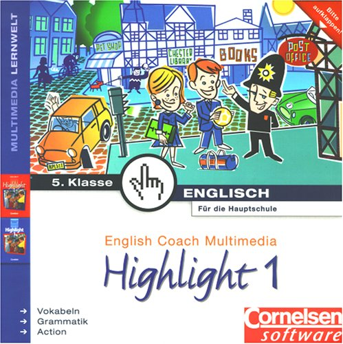 English Coach Multimedia Highlight 1: Hauptschule 5. Klasse