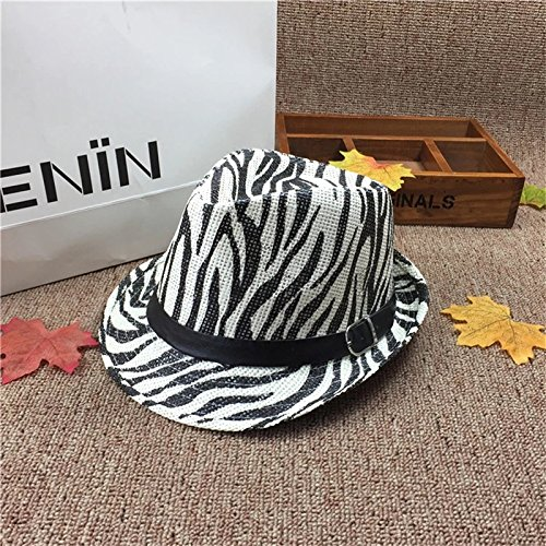 7cadd70951239 23% OFF on Generic Style A   Summer Style Child Sun hat Beach Sunhat Fedora  hat Trilby Straw panama Hat Boy Girl Gangster Cap Fit For Kids Children  Women ...