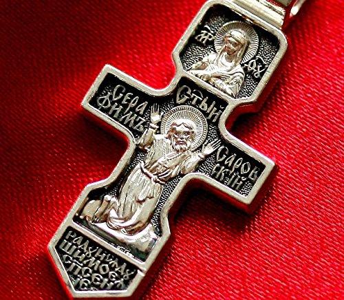 Edelstein Kreuz Kruzifix Nika und Saint Séraphin Sarovski MO11