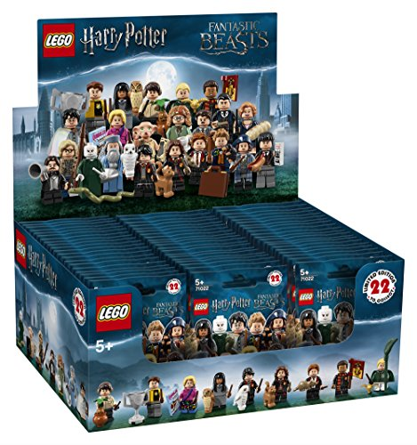 Lego 71022 Harry Potter Minifiguren Display Box Mit 60 Tüten (Harry Potter Lego Figur Aus Set)