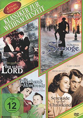 Klassiker zur Weihnachtszeit : Der kleine Lord – Ein Geschenk des Himmels – Serenade für das Christkind – Scrooge (Die Nacht vor Weihnachten)