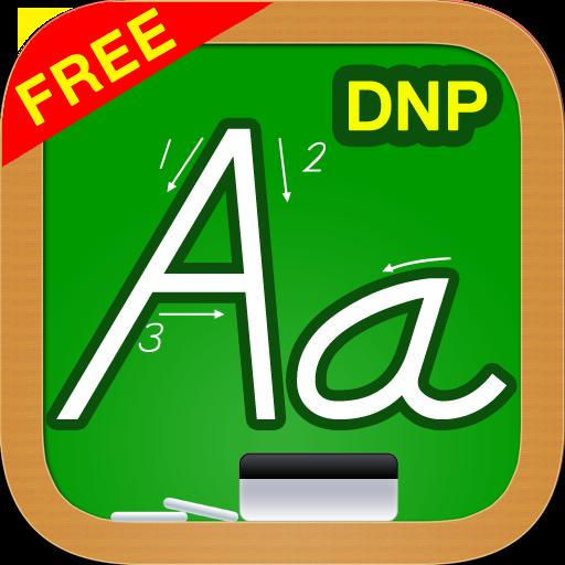 123s ABCs Kids Alphabet Tracing Game - Manuscript Print Letters DNP Style