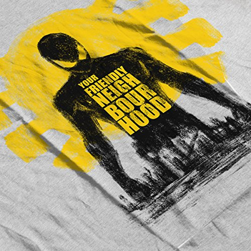 Spider Man Your Friendly Neighbourhood Women's T-Shirt Heather Grey