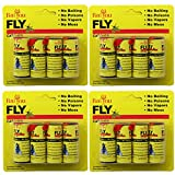 TAOtTAO 16 Rolls Sticky Fly Paper Eliminate Flies Insect Bug Glue Paper Catcher Trap